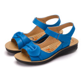 Jantens Casual flat sandals summer shoes women retro ankle wrap shoes