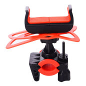 [Kingstore] Multifunctional Bike Mount Universal Cell Phone Bicycle Rack Handlebar Holder Red
