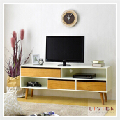 Meja TV / Rak TV / Cubic TV Dresser - LIVIEN FURNITURE