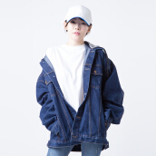 Merongshop Outwear ON-OFF Denim Hoodie Merongshop Denim All Size