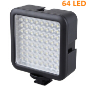 LED Video Light for DSLR Camera Camcorder mini DVR as Fill Light for Black