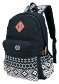 RAINDOZ - TAS BACKPACK UNISEX - RMN 003  - HITAM