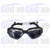 GODIVE Swimming Goggles SG380-Black - All Size