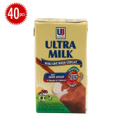 ULTRA Milk Coklat Carton 125ml x 40pcs