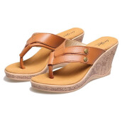 SANDAL HIGH HEELS / WEDGES KASUAL WANITA - BEP 014