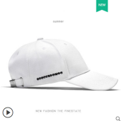 Runetz R-1109 Adjustable Men's Summer Outdoor Sun Shade Cap Baseball Cap MBL Hiphop cap-White