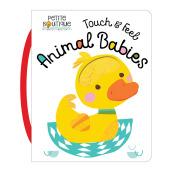 Petite Boutique: Touch & Feel Animal Babies Import Book - Veronique Petit - 9781786921307