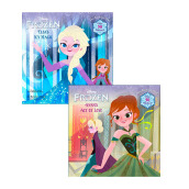 Annas Act Of Love/Elsas Icy Magic (Disney Frozen) Import Book - Random House Disney - 9780736430616