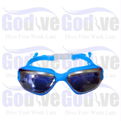 GODIVE Swimming Goggles SG380-Light Blue - All Size