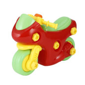 COZIME Puzzle Motorcycle Baby Toys DIY Children Educational Toys With Screwdriver Multicolor