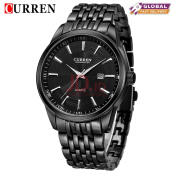 CURREN 8052 Watches Men Luxury Brand Business Watches Casual Watch Quartz Watches relogio masculino