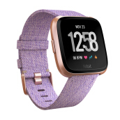 FITBIT Versa Heart Rate GPS Fitness SmartWatch Resmi - Rose Gold Aluminum