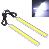 JDwonderfulhouse 2X 14CM LED COB Car Driving Daytime Running Light DRL Fog Lamp Waterproof 12V