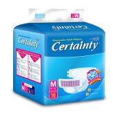 CERTAINTY Tape Regular Pack Size M Carton 8 Bag x 10 Pcs