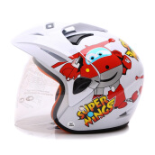 WTO Helmet Kids Pet SuperWings White M