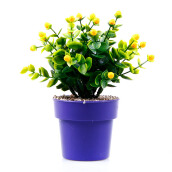 KOKOJI Flower Arrangements with Vase - Yellow/KKJ-0317-07 JD
