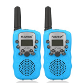 FLOUREON 8 Channel Walkie Talkies two-Way Radio 3 Km Range EU