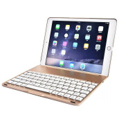 Vinmori Keyboard Case for iPad Air / 5 Wireless Bluetooth Keyboard Case Slim Fit Protective Hard Shell Case