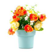 KOKOJI Flower Arrangements with Vase - Orange/KKJ-0317-30 JD