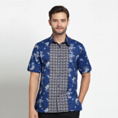 A&D Mens Batik Ms 796 - Blue