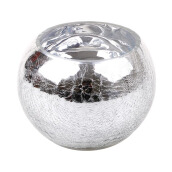 BLOOM & BLOSSOM Boudin Bowl Large - Silver