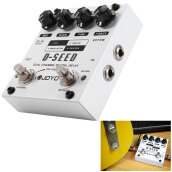 JOYO D - Seed Aluminum Alloy Casing Dual Channel Digital Delay Guitar Effect Pedal with 4 Modes