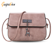 Guapabien Women Small Deer Flap Shoulder Crossbody Bag