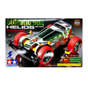 TAMIYA Mini 4WD Dash 2 Burning Sun Helios - Silver (Super I Chassis)