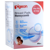 PIGEON Breast Pads Honeycomb 66pcs