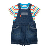 TORIO Surfing Beach Dungaree Set