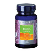 WELLNESS Excell-C+Quercetin 30 Tablets