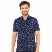 SALT N PEPPER Mens Short Sleeve SNP 175 - Navy