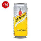 SCHWEPPES Tonic Water Can 330ml x 24pcs