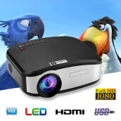 CHEERLUX Mini LED projector 800x480 1200 lumens Home Theater
