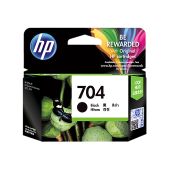HP 704 Black Ink Cartridge