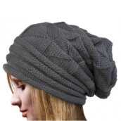 BESSKY Women Winter Crochet Hat Wool Knit Beanie Warm Caps-