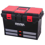 Shuter  Tool Box Professional 25 Kg Perkakas Toolbox TB-802 Red Black