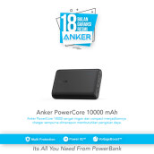 ANKER PowerCore 10000mAh - Black [A1263H11]