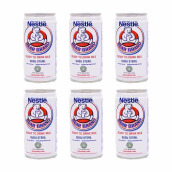 BEAR BRAND Ready To Drink Milk Bundle 189ml x 6pcs