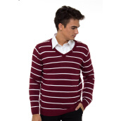 PEOPLE'S DENIM Men Sweater Chenobi - Maroon