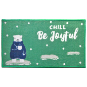 ARTSYs Keset Anti Slip Xmas Edition NEW 40x70 cm - Chil Be Joyful Green Others