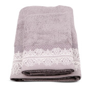 TERRY PALMER Premium Towel Bath & Travel 500g Set of 2 - Grey/SET2LP9706MO-50NN-NSL