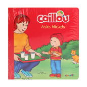CHOUETTE Caillou Asks Nicely 3 - 4 years