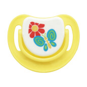 PIGEON Silicone Pacifier Step 3C - Yellow