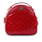 LES CATINO Exxo Patent Backpack - Tanggo Red
