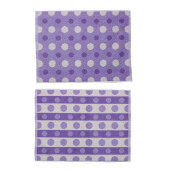 TERRY PALMER Gramadi Towel Mat Set of 2 880g - Purple LP9057RX-NGN-88NN-NLI
