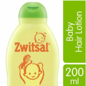 ZWITSAL Natural Baby Hair Lotion Aloe Vera, Kemiri & Seledri 200ml