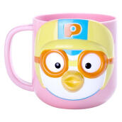 PORORO 3d Cup With Handle - Pink