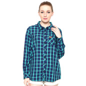 GREENLIGHT Pocket Long Shirt - Blue