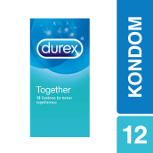 DUREX Kondom Basic Together 12 pcs